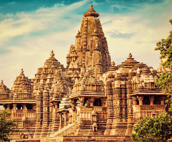 The erotic temples at Khajuraho