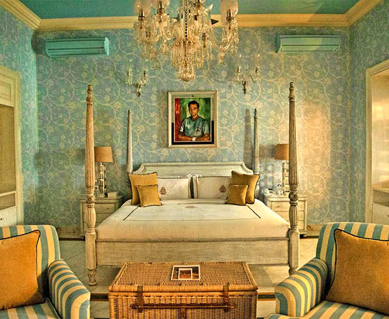 Mountbatten Suite at the newly restored SUJAN Raj Mahal Palace, Jaipur